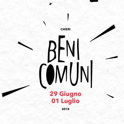 II Edizione Area Festival dei Beni Comuni 2018