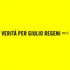 striscione simbolo della campagna verità per Giulio Regeni